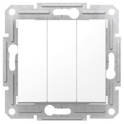 Выключатель 3кл.10AX, 230В, БЕЛЫЙ SDN0300621