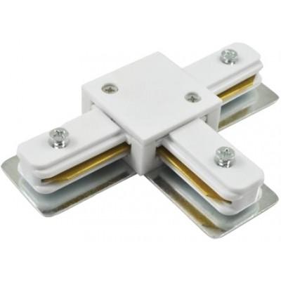 580921 Коннектор для шинопровода Т- обр 1-фаз G-1-TTT-IP20 белый