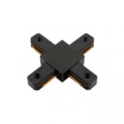 580933 Коннектор для шинопровода Х- образ 1-фаз G-1-TXT-IP20-B че