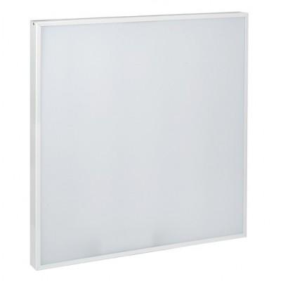 Панель светодиодная ДВО 6575 595х595х25мм 40Вт 6500К равномерная засветка опал IEK