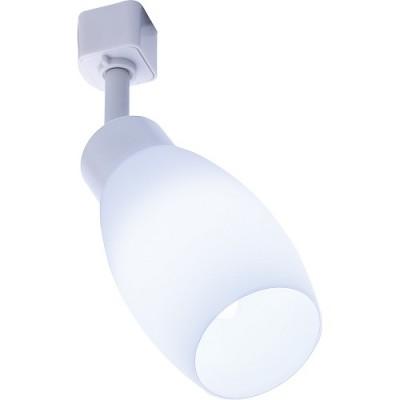 AL156 светильник трековый под лампу E14, белый