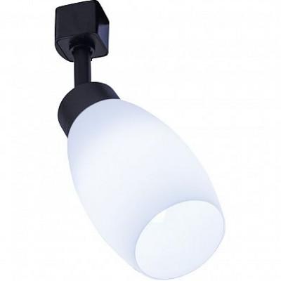 AL156 светильник трековый под лампу E14, черный