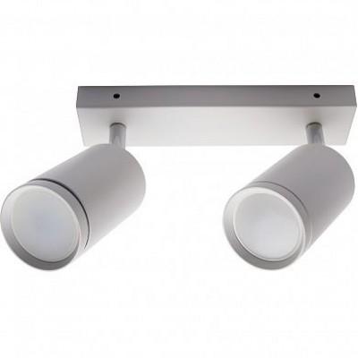 ML202 светильник настенно-потолочный под лампу GU10, белый