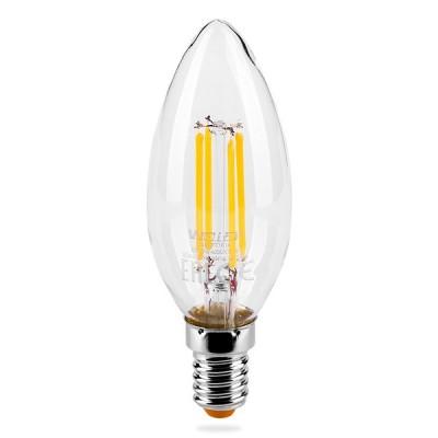 Лампа LED WOLTA FILAMENT 3000К Свеча 7W Е14