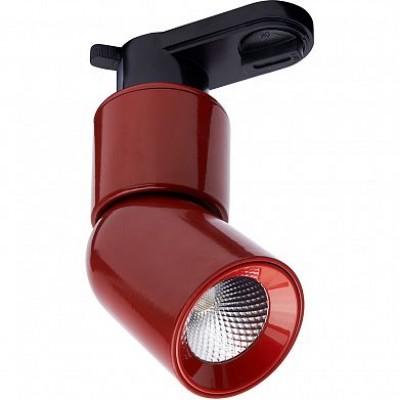 AL114 Светильник трековый светодиодный на шинопровод 10W, 900 Lm, 4000К, 35 градусов, красный FERON