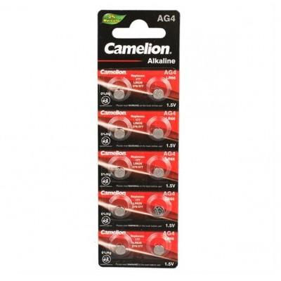 Camelion G 4  BL-10 Mercury Free (AG4-BP10(0%Hg), 377A/LR626/177 батарейка для часов)