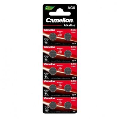 Camelion G 5  BL-10 Mercury Free (AG5-BP10(0%Hg), 393A/LR754/193 батарейка для часов)