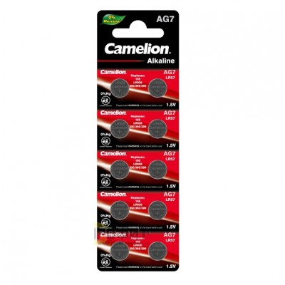 Camelion G 7  BL-10 Mercury Free (AG7-BP10(0%Hg), 395A/LR927/195 батарейка для часов)