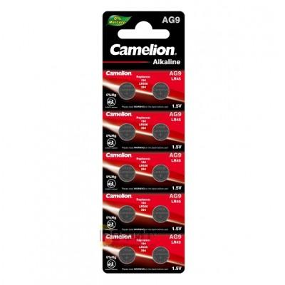 Camelion G 9  BL-10 Mercury Free (AG9-BP10(0%Hg), 394A/LR936/194 батарейка для часов)