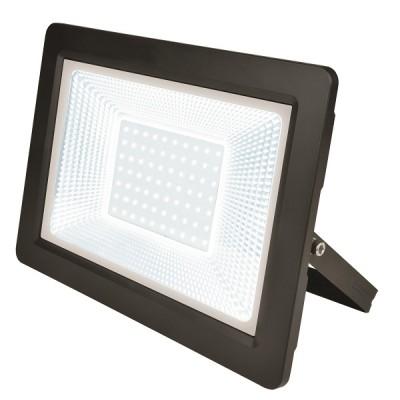 ULF-F19-100W/6500K IP65 175-250В BLACK Прожектор светодиодный. Дневной свет (6500K). Корпус черный. TM Uniel.