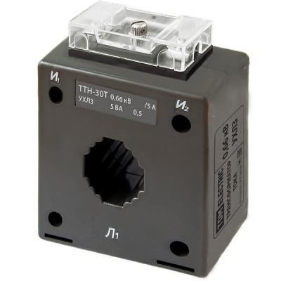 Трансформатор тока измерительный ТТН  30T/150/5- 5VA/0,5-Р TDM