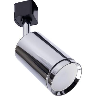 AL155 светильник трековый под лампу GU10, хром