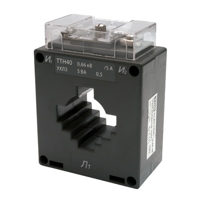 Трансформатор тока измерительный ТТН  40/500/5- 5VA/0,5-Р TDM