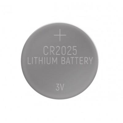 Батарейка  GBAT-CR2025  кнопочная литиевая 5pcs/card  (5/100/5000)