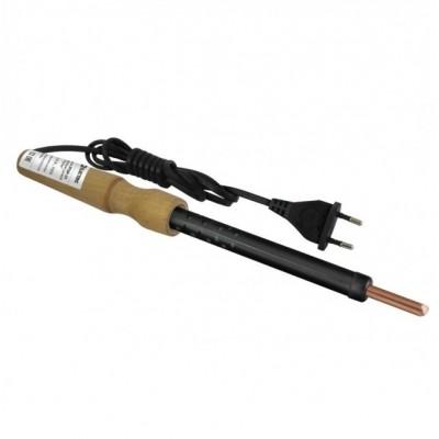 ПаяльникЭПСН- 40,деревяннаяручка,мощность40Вт,230В,сменное жало,РубинTDM