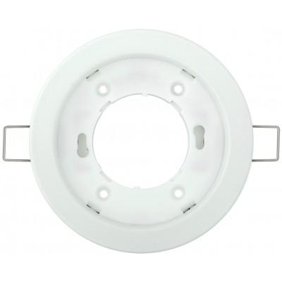 DL53 Светильник потолочный встраиваемый, 15W 230V  GX53, белый без лампы