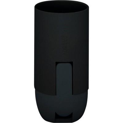Патрон для ламп, 230V E14, LH111 ЧЕРНЫЙ