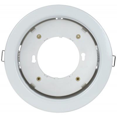 Светильник встраиваемый под лампу GX70 белый IEK