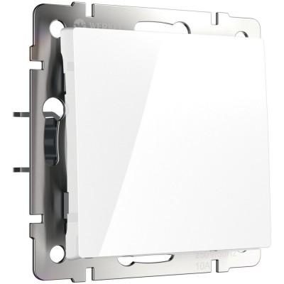 W1110001 Выключатель одноклавишный (белый)