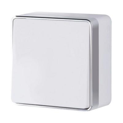 W5010001 Выключатель одноклавишный Gallant (белый)