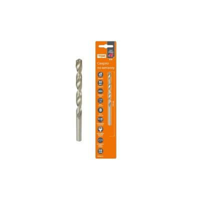 Сверло по металлу, 8 мм, полир., HSS, класс точн. В, 118?, цилиндр. хв., блистер 1 шт, Рубин TDM