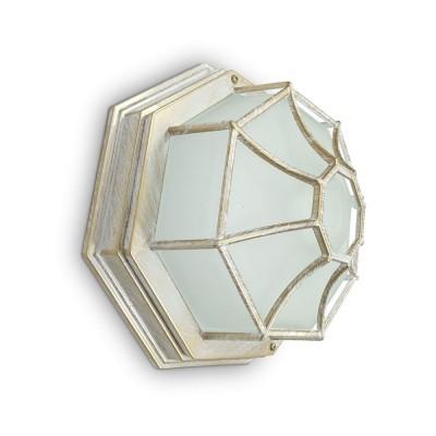PL661 Светильник садово-парковый 60W 230V 270*270*120 белое золото