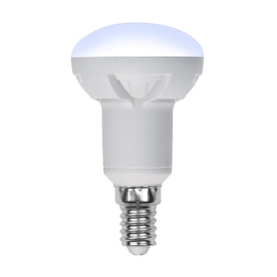 LED-R50 7W-4000K-E14-FR-DIM PLP01WH Лампа светодиодная. диммируемая. Форма Рефлектор. матовая 4000К