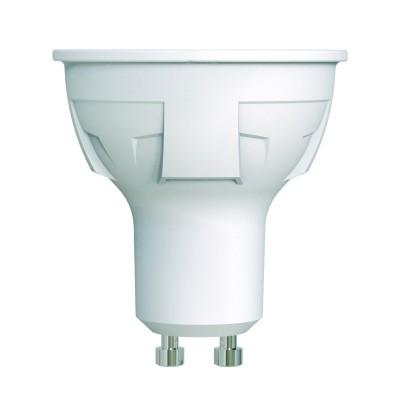 LED-JCDR 6W-NW-GU10-FR-DIM PLP01WH Лампа светодиодная. диммируемая. Форма JCDR. матовая. Серия ЯРКАЯ. Белый свет 4000K.