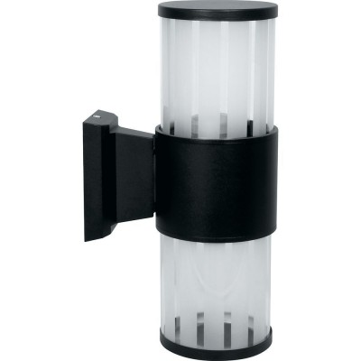 DH0902 Светильник садово-парковый, 230V E27, черный
