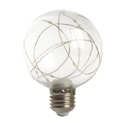 LB-381 Лампа светодиодная, (3W) 230V E27 RGB G80