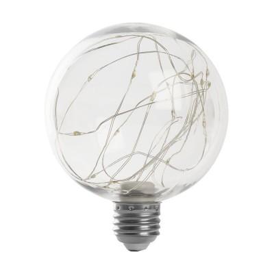 LB-382 Лампа светодиодная, (3W) 230V E27 RGB G95