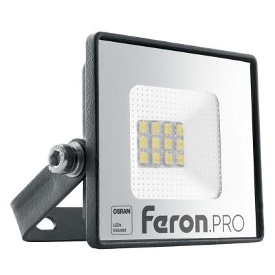 LL-1000 Прожектор светодиодный  10W 6400K IP65  AC220-240V/50Hz, черный