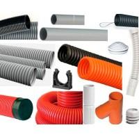Трубы пластиковые и аксессуары